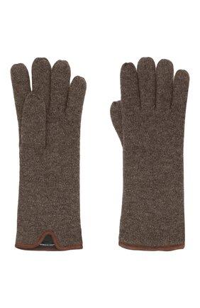 Мужские кашемировые перчатки SVEVO темно-бежевого цвета, арт. 0158USA21/MP01/2 | Фото 2