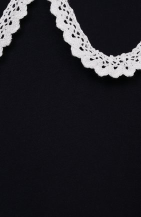 Детское платье катя ZHANNA & ANNA синего цвета, арт. ZABL10062021 | Фото 3 (Рукава: Длинные; Случай: Повседневный; Материал внешний: Синтетический материал, Вискоза; Девочки Кросс-КТ: Платье-одежда; Ростовка одежда: 13 - 15 лет | 158 см, 12 лет | 152 см, 9 лет | 134 см, 7 лет | 122 см, 5 лет | 110 см)