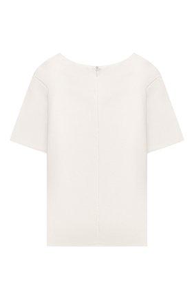 Детское блузка ZHANNA & ANNA белого цвета, арт. ZAWB13072120   Фото 2 (Рукава: Короткие; Ростовка одежда: 10 - 11 лет   140 - 146см, 9 лет   134 см, 8 лет   128 см, 7 лет   122 см)