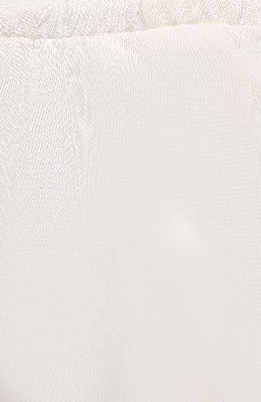 Мужского хлопковые шорты PANGAIA кремвого цвета, арт. SRM0011-111-FRCM01 | Фото 8 (Женское Кросс-КТ: Шорты-одежда; Стили: Спорт-шик)