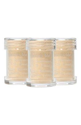Сменный блок пудры powder-me spf 30 sunscreen refill, golden JANE IREDALE бесцветного цвета, арт. 670959114150   Фото 1
