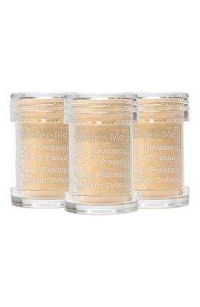 Сменный блок пудры powder-me spf 30 sunscreen refill, tanned JANE IREDALE бесцветного цвета, арт. 670959114112   Фото 1