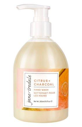 Жидкое мыло для рук citrus + charcoal hand wash (300ml) JANE IREDALE бесцветного цвета, арт. 670959113733   Фото 1