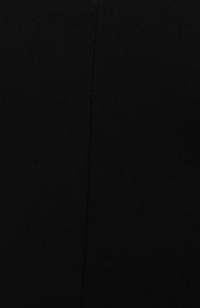 Женское боди VERSACE черного цвета, арт. 1001988/1A00572 | Фото 5 (Рукава: Длинные; Стили: Гламурный; Материал подклада: Синтетический материал; Материал внешний: Вискоза; Женское Кросс-КТ: Боди-одежда)
