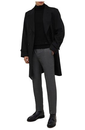 Мужские кожаные ботинки BARRETT темно-серого цвета, арт. 192U026.15/BETIS CREAM | Фото 2 (Подошва: Плоская; Материал внутренний: Натуральная кожа; Мужское Кросс-КТ: Ботинки-обувь)