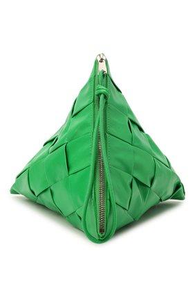 Мужская кожаный клатч BOTTEGA VENETA зеленого цвета, арт. 667045/VCQ72 | Фото 1 (Материал: Натуральная кожа)