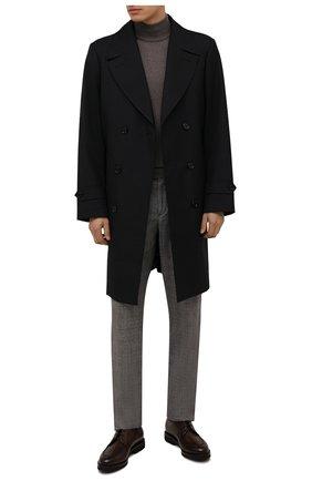 Мужские кожаные ботинки BARRETT коричневого цвета, арт. 192U026.16/BETIS CREAM | Фото 2 (Подошва: Плоская; Материал внутренний: Натуральная кожа; Мужское Кросс-КТ: Ботинки-обувь)