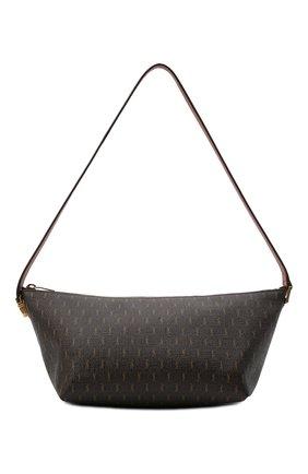Мужская сумка le monogramme SAINT LAURENT коричневого цвета, арт. 667490/2UY2W   Фото 1 (Материал: Экокожа)