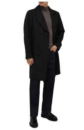 Мужские кожаные ботинки norkwel BALLY черного цвета, арт. N0RKWEL/40 | Фото 2 (Подошва: Плоская; Материал внутренний: Натуральная кожа; Мужское Кросс-КТ: Ботинки-обувь)