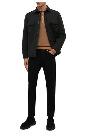 Кашемировая куртка с меховой подкладкой   Фото №2