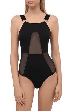 Женское боди BORDELLE черного цвета, арт. REY B0DY   Фото 2 (Материал внешний: Синтетический материал)
