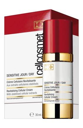 Женское дневной крем для чувствительной кожи CELLCOSMET&CELLMEN бесцветного цвета, арт. 921_110 | Фото 2