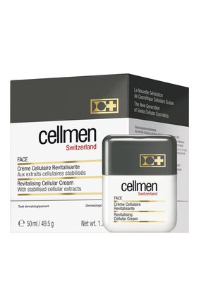 Мужского крем для лица CELLCOSMET&CELLMEN бесцветного цвета, арт. 851_501 | Фото 2