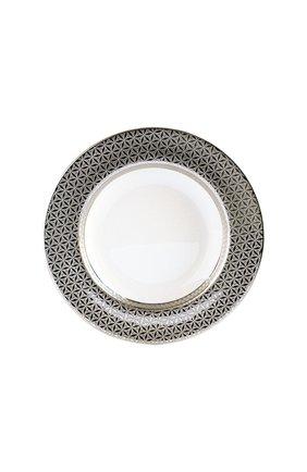 Тарелка суповая divine BERNARDAUD серебряного цвета, арт. 1388/23 | Фото 1