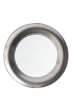 Блюдо для торта divine BERNARDAUD серебряного цвета, арт. 1388/121 | Фото 1