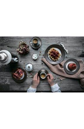 Набор divine из двух кофейных чашек с блюдцами BERNARDAUD серебряного цвета, арт. 1388/21957 | Фото 2
