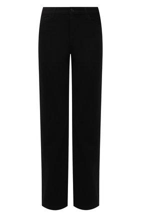 Мужские джинсы THE ROW черного цвета, арт. 286W1954 | Фото 1 (Длина (брюки, джинсы): Стандартные; Материал внешний: Хлопок; Кросс-КТ: Деним; Силуэт М (брюки): Широкие; Стили: Минимализм)