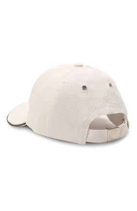 Мужской хлопковая бейсболка VILEBREQUIN белого цвета, арт. CTNH0400/010 | Фото 2 (Материал: Текстиль, Хлопок)