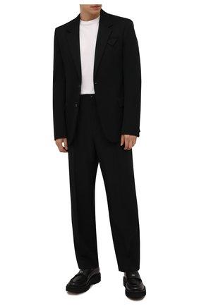 Мужские кожаные пенни-лоферы BARRETT черного цвета, арт. 212U021.8/NEW B0X | Фото 2 (Материал внутренний: Натуральная кожа; Стили: Кэжуэл)