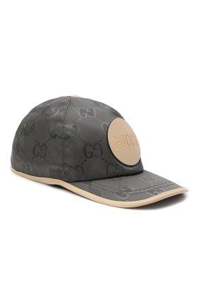 Мужской бейсболка off the grid GUCCI серого цвета, арт. 627114/4HK79 | Фото 1 (Материал: Текстиль, Синтетический материал)