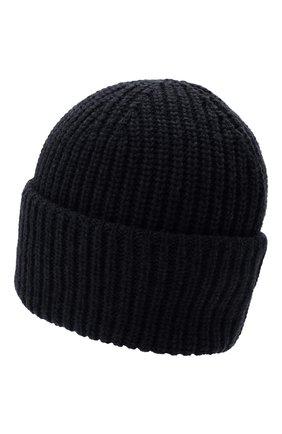 Мужская шерстяная шапка INVERNI темно-синего цвета, арт. 5339 CM   Фото 2 (Материал: Шерсть; Кросс-КТ: Трикотаж)