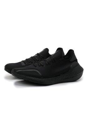 Мужские текстильные кроссовки ultra boost 21 Y-3 черного цвета, арт. GZ9133/M | Фото 1 (Материал внутренний: Текстиль; Материал внешний: Текстиль; Подошва: Массивная; Стили: Спорт)