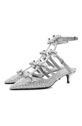 Текстильные туфли French Bows   Фото №1