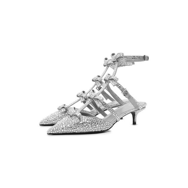 Текстильные туфли French Bows Valentino