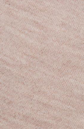 Женские кашемировые носки BRUNELLO CUCINELLI бежевого цвета, арт. M64945019P | Фото 2 (Материал внешний: Кашемир, Шерсть)
