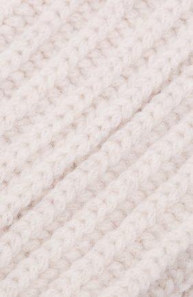 Женские кашемировые носки BRUNELLO CUCINELLI белого цвета, арт. M52502569 | Фото 2 (Материал внешний: Кашемир, Шерсть)