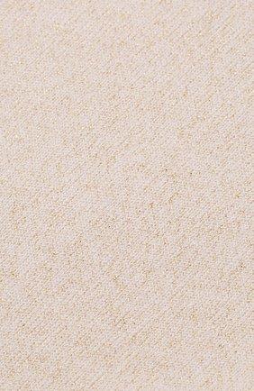 Женские носки из смеси кашемира и шелка BRUNELLO CUCINELLI кремвого цвета, арт. M41945019P | Фото 2 (Материал внешний: Шерсть, Кашемир)