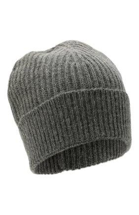 Мужская шерстяная шапка MAISON MARGIELA серого цвета, арт. S50TC0053/S17849 | Фото 1 (Материал: Шерсть; Кросс-КТ: Трикотаж)