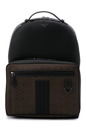 Мужской рюкзак mavrick BALLY черного цвета, арт. MAVRICK.STM/01 | Фото 1 (Материал: Экокожа)