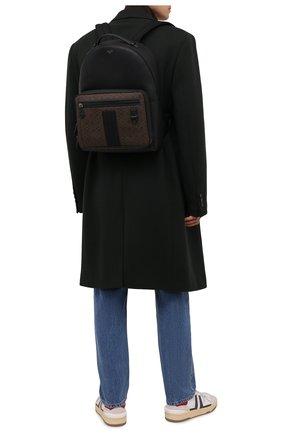 Мужской рюкзак mavrick BALLY черного цвета, арт. MAVRICK.STM/01 | Фото 2 (Материал: Экокожа)