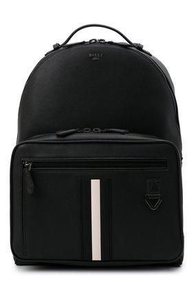 Мужской кожаный рюкзак mavrick BALLY черного цвета, арт. MAVRICK/00 | Фото 1 (Материал: Натуральная кожа)