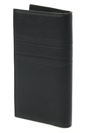 Мужской кожаное портмоне BRIONI темно-синего цвета, арт. 0HSY0L/P9721 | Фото 2