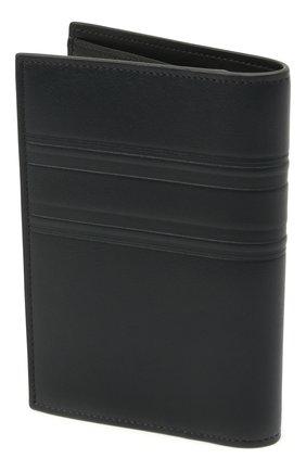 Мужской кожаная обложка для паспорта BRIONI темно-синего цвета, арт. 0HSX0L/P9721 | Фото 2