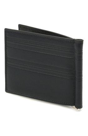 Мужской кожаный зажим для денег BRIONI темно-синего цвета, арт. 0HSW0L/P9721 | Фото 2
