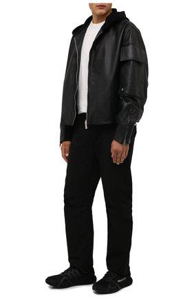 Мужские кроссовки runner 4d iow Y-3 черного цвета, арт. GZ9141/M | Фото 2 (Материал внешний: Текстиль; Материал внутренний: Текстиль; Подошва: Массивная; Стили: Спорт)