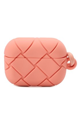 Чехол для airpods pro BOTTEGA VENETA розового цвета, арт. 670190/V0EY1   Фото 1