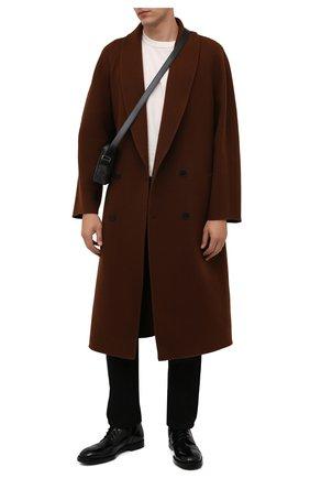 Мужские кожаные ботинки michelangelo DOLCE & GABBANA черного цвета, арт. A60359/A1203 | Фото 2 (Подошва: Плоская; Материал внутренний: Натуральная кожа; Мужское Кросс-КТ: Ботинки-обувь)