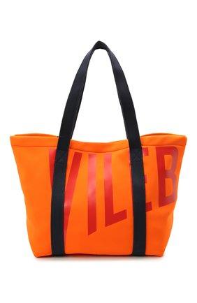 Мужская пляжная сумка VILEBREQUIN оранжевого цвета, арт. BSBC1137/195   Фото 1 (Материал: Текстиль)
