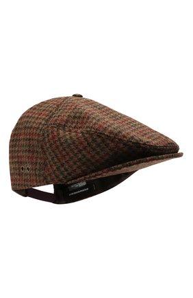 Мужская шерстяное кепи DSQUARED2 коричневого цвета, арт. HAM0036 01W04523 | Фото 1 (Материал: Шерсть)
