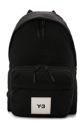 Мужской текстильный рюкзак Y-3 черного цвета, арт. HA6515/M | Фото 1 (Материал: Текстиль)