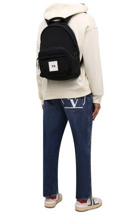 Мужской текстильный рюкзак Y-3 черного цвета, арт. HA6515/M | Фото 2 (Материал: Текстиль)
