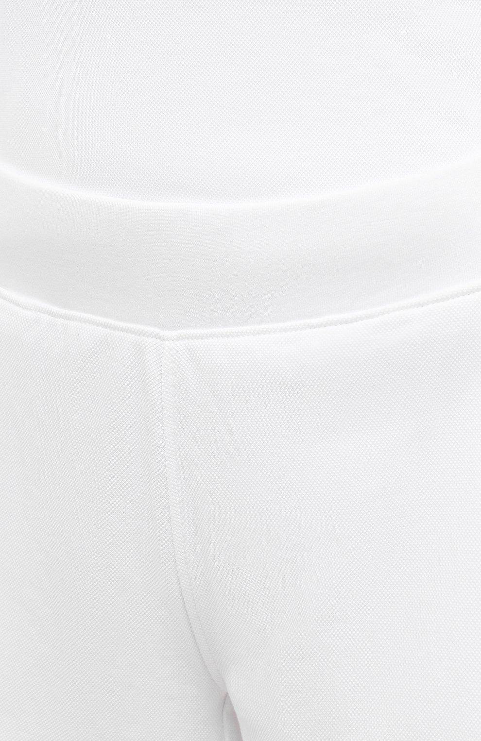 Женские шорты женские TOMMY HILFIGER белого цвета, арт. S10S101044   Фото 5 (Женское Кросс-КТ: Шорты-одежда; Длина Ж (юбки, платья, шорты): Мини; Материал внешний: Хлопок; Стили: Спорт-шик)