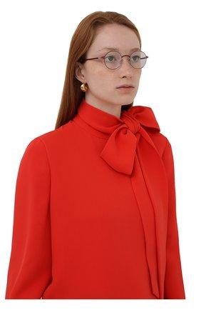 Женские оправа MYKITA бордового цвета, арт. KNUT/412 | Фото 2 (Тип очков: Оправа; Оптика Гендер: оптика-унисекс)