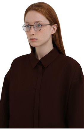 Женские оправа MYKITA черного цвета, арт. KNUT/002 | Фото 2 (Тип очков: Оправа; Оптика Гендер: оптика-унисекс)