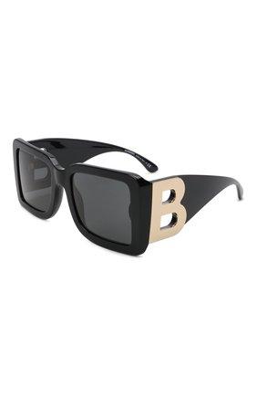 Женские солнцезащитные очки BURBERRY черного цвета, арт. 4312-390787   Фото 1 (Тип очков: С/з; Оптика Гендер: оптика-женское)