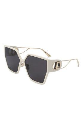 Женские солнцезащитные очки DIOR белого цвета, арт. 30M0NTAIGNE BU 95A1 | Фото 1 (Тип очков: С/з; Оптика Гендер: оптика-женское)